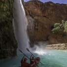 Kayaking Below Havasu Falls